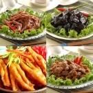 大甲媽祖遶境 鬍鬚林 辣味雞腳凍+香脆雞胗凍+五香冰鴨掌+老滷豆干
