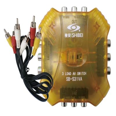 【遙控天王 】SB-S31VA(視貝seebest)AV切換器3入1出