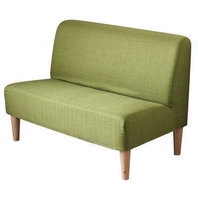 YKS-果漾馬卡龍雙人座布沙發椅(五色可選)