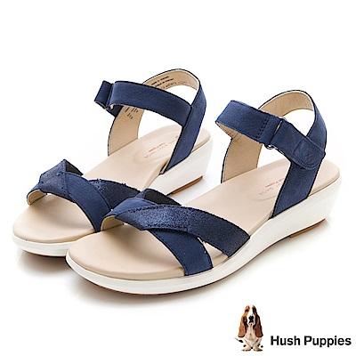 Hush Puppies LYRICALE 機能健走涼鞋-深藍色