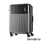 Samsonite 新秀麗 27吋Rexton直線條鋁框PC硬殼行李箱(碳灰)