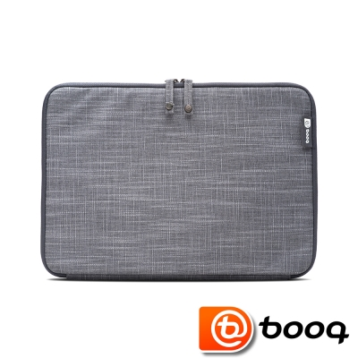 Booq Mamba 系列 the new MacBook 12 吋天然麻保護袋(石磨灰)