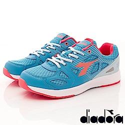 DIADORA-緩震輕彈慢跑款 RSI026藍(女段)