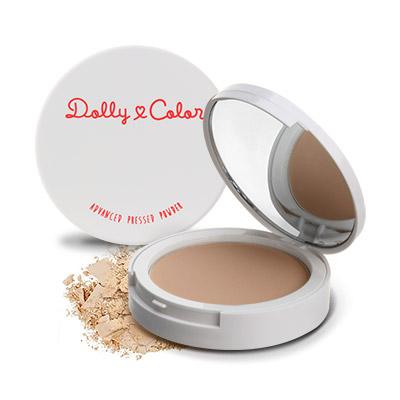 Dolly Color 傳明酸光透柔膚礦物粉餅 買一送一