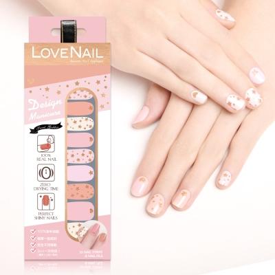 LOVE NAIL-造型系列持久指甲油貼-巨星情挑