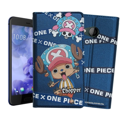 正版授權 航海王 HTC U Play 5.2吋 彩繪磁力皮套(封鎖喬巴)