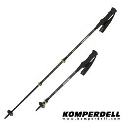 KOMPERDELL C3 Carbon Power Lock 強力鎖定登山杖(雙支銷售)