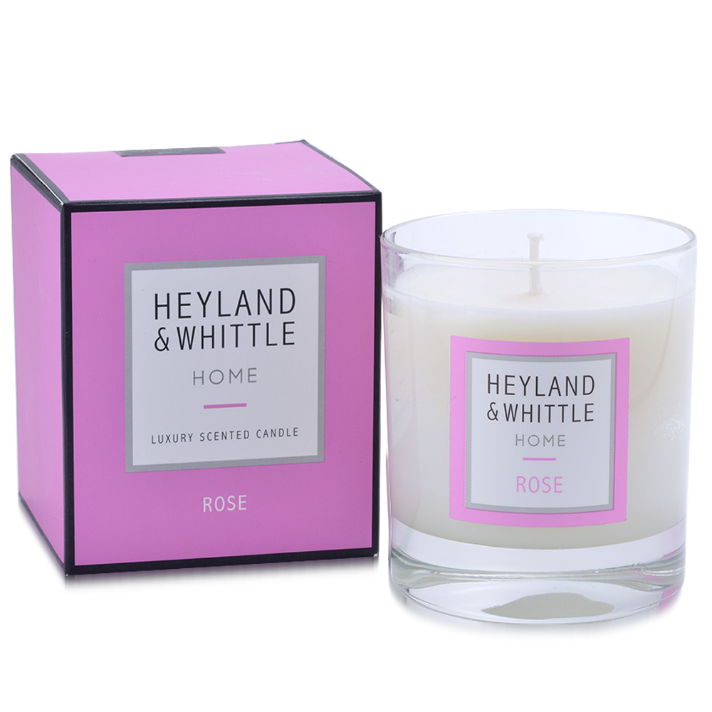 H&W英倫薇朵 盛夏玫瑰香氛燭220g