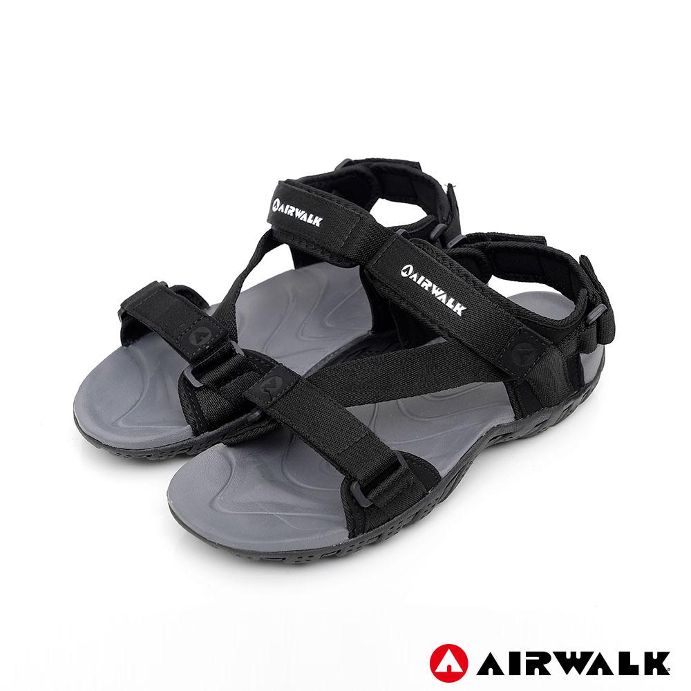 【AIRWALK】超Z領域運動涼鞋-黑色