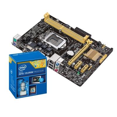 Intel-G1840-華碩H81M-E主機板組合