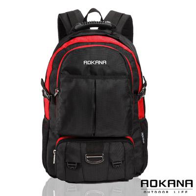 AOKANA奧卡納 - 台灣釦具 防潑水電腦後背包68-064 - 紅