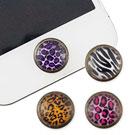 Miravivi iPhone/ iPad/ iPod 復古動物紋立體home鍵貼