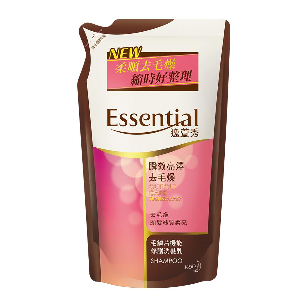 逸萱秀 瞬效亮澤去毛燥洗髮乳補充包 (550ml)