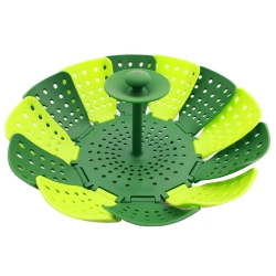 PUSH!餐具穿山甲折疊蒸籠蒸盤易清洗衛生無菌食品級矽膠