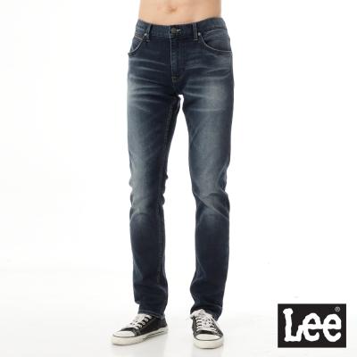 Lee 牛仔褲 709 低腰合身小直筒-男款(深藍)