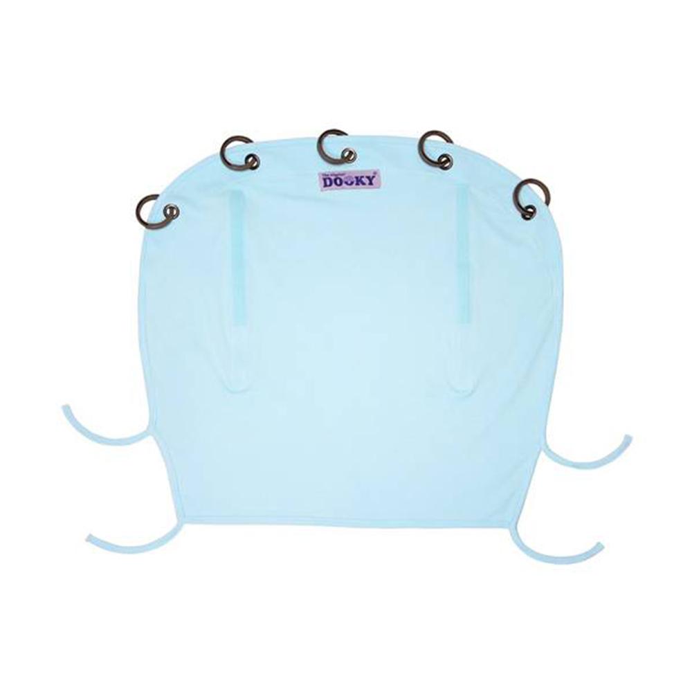 荷蘭Dooky抗uv萬用推車遮陽罩-寶貝藍/單一尺寸