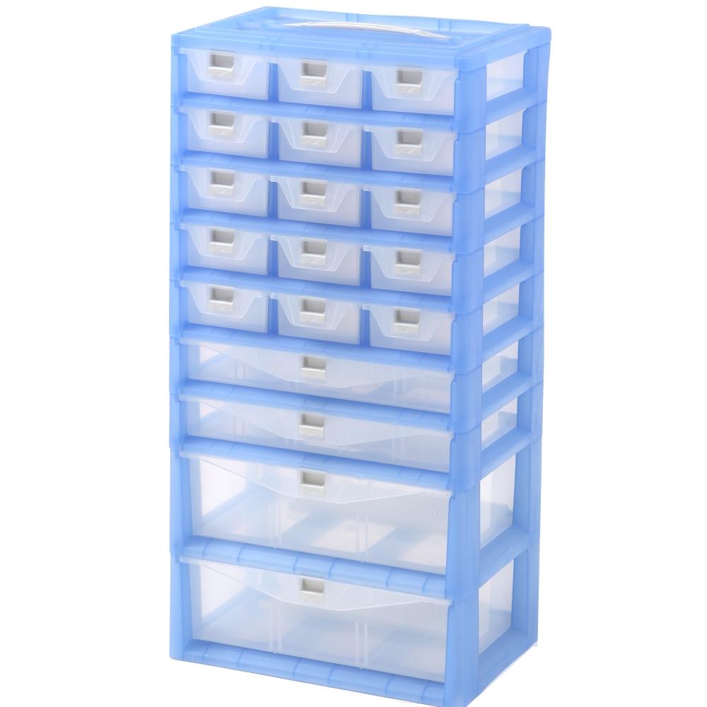 【DOLEDO】手提分類收納整理盒- 五+二+二層