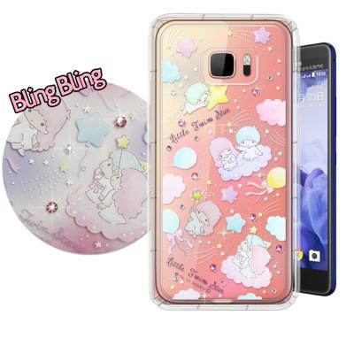 正版雙子星 HTC U Ultra 5.7吋 施華洛世奇 彩鑽氣墊保護殼(氣球)
