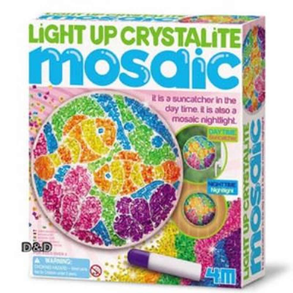 《 4M美勞創作 》海底水晶燈飾