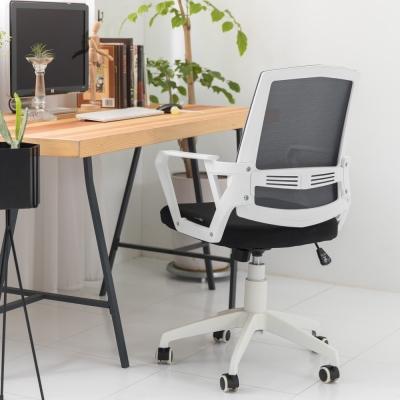 IDEA-塔尼透氣網布護腰人體工學電腦椅-PU靜音滑輪