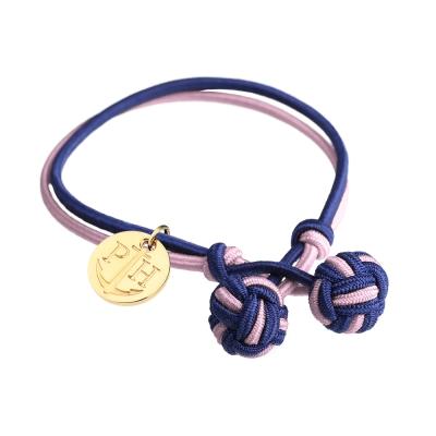 PAUL HEWITT 德國出品 Knot 粉紅藍繩結手環