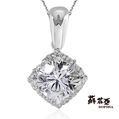 蘇菲亞SOPHIA-鑽鍊-凡賽絲0-50克拉鑽石項鍊