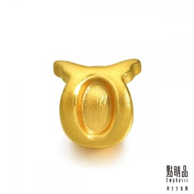 點睛品 Charme 十二星座-金牛座 黃金串珠