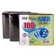 DigiStone 高級雙面不織布100入棉套 / 黑色限定版 (3包) product thumbnail 1