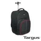 Targus Compact 16吋多功能拉桿後背包-黑紅