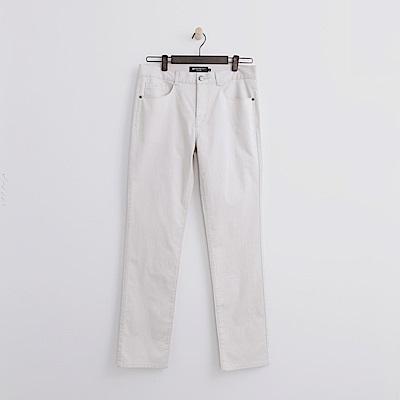 Hang Ten - 男裝 - 多彩修身長褲-米白色