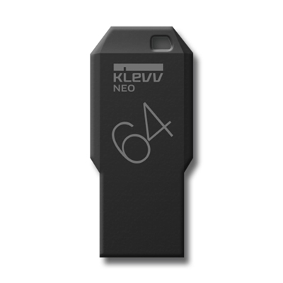 KLEVV 科賦  64 GB 黑曜版 USB 3 . 0  隨身碟