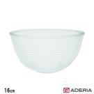 ADERIA 日本進口陶瓷塗層耐熱玻璃調理碗16cm