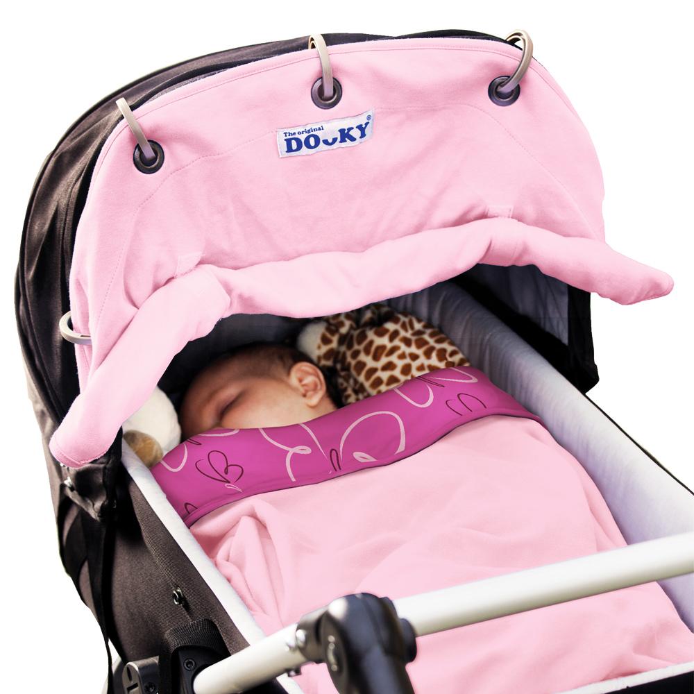 荷蘭Dooky魔法斗篷/嬰兒車萬用遮蓮/寶貝紅