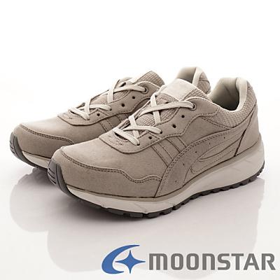 日本Supplist戶外健走鞋-防潑水3E寬楦款-ON619淺灰(男段)