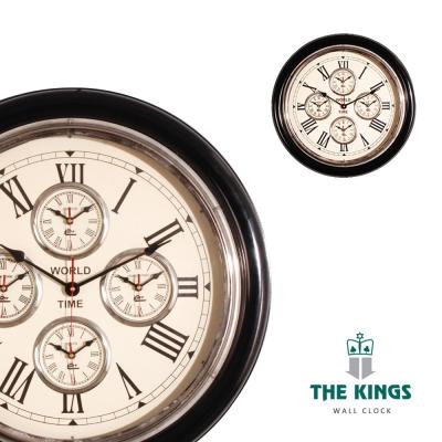 THE KINGS_Time Genie世界時鐘復古工業時鐘