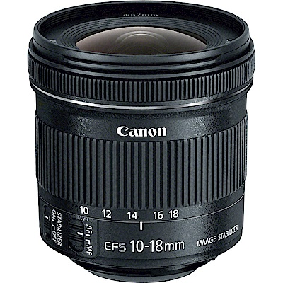 Canon EF-S  10 - 18 mm f/ 4 . 5 - 5 . 6  IS STM超廣角鏡頭(平輸)