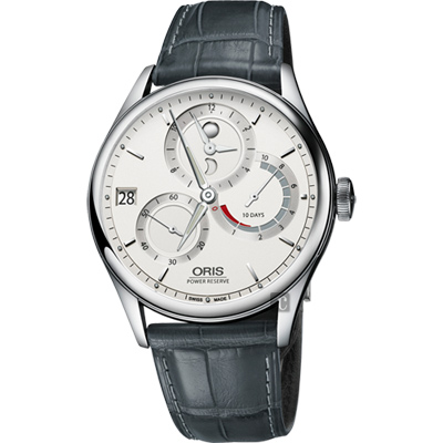 Oris Artelier Calibre 112 十日動力儲存手動上鏈機械腕錶-42mm