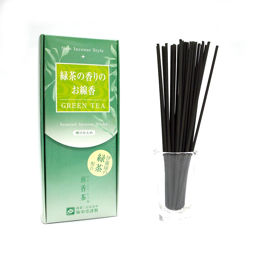 梅榮堂 煎香茶 微煙線香 80g