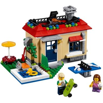 LEGO樂高 3合1創作系列 31067 渡假屋