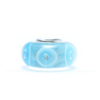YUME Beads-琉璃系列-藍色泡沫