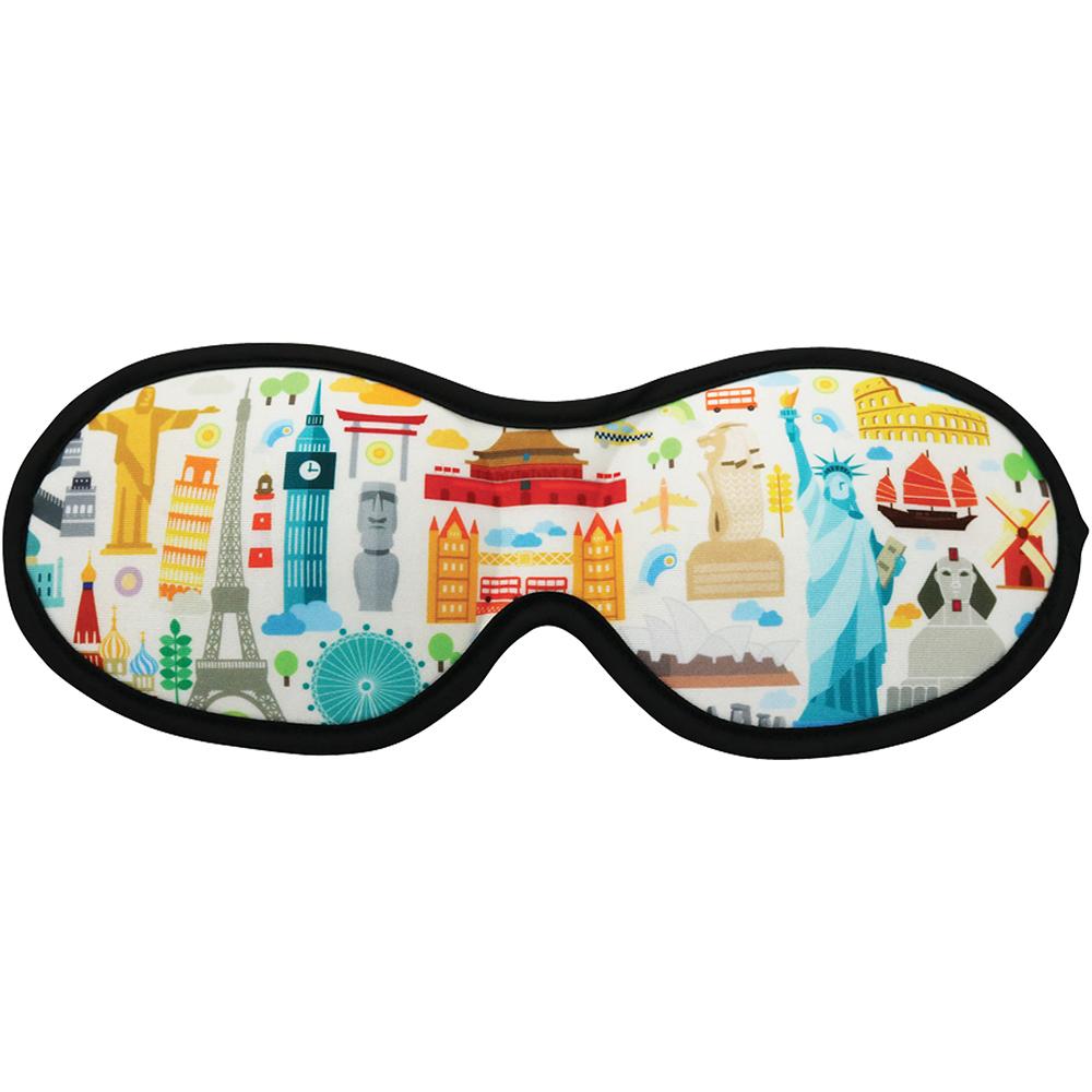 DQ 3D睡眠眼罩(環遊世界)