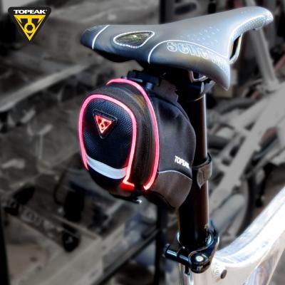TOPEAK AeroWedge iGlow 快拆式光纖發亮條座墊袋