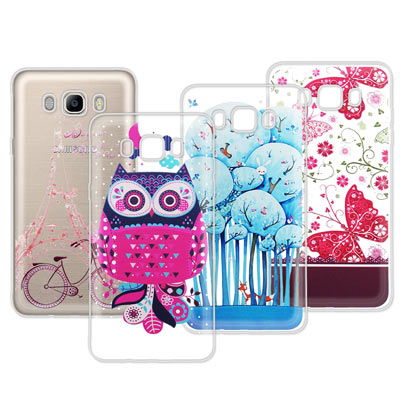 VXTRA Samsung Galaxy J7(2016) 法式浪漫 彩繪手機殼