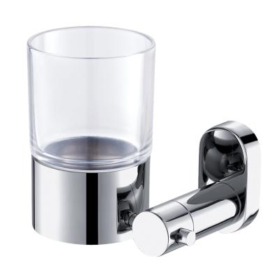Homeicon 衛浴配件-亮面不鏽鋼牙杯架