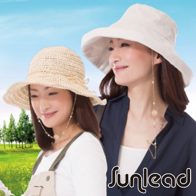 Sunlead 防風吹落帽繩夾 (金色)