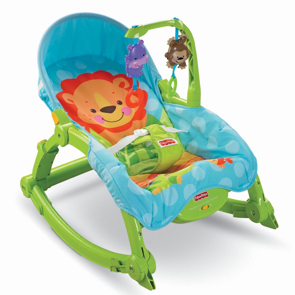費雪 新可攜帶兩用安撫椅/躺椅(0M+)