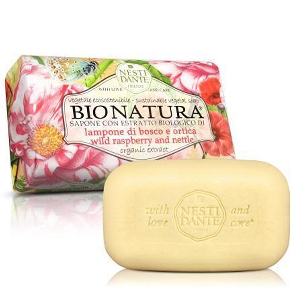 (任選)Nesti Dante 天然純植系列-純植野莓蕁麻葉皂250g