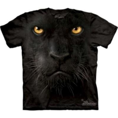 摩達客 美國進口The Mountain 黑豹臉 純棉環保短袖T恤
