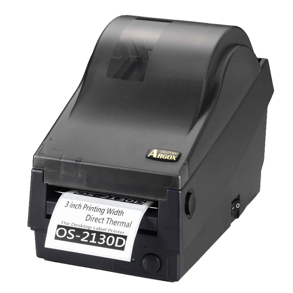 Argox OS-2130D 熱感式財產標籤條碼列印機