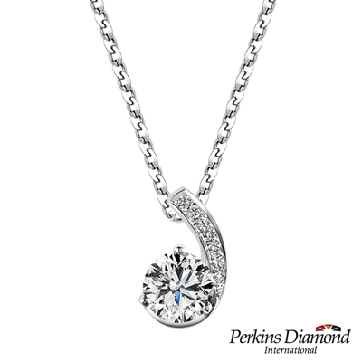 PERKINS 伯金仕 - GIA Hug系列 0.30克拉鑽石項鍊